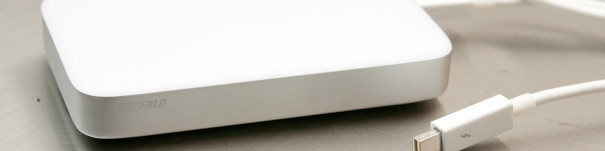Storage Buffalo MiniStation Thunderbolt Review
